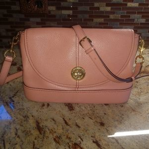 Marc Jacobs Rose Pink Leather Crossbody!